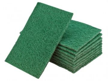 Hand Pads Green Medium 230 x 150mm (Pack 10)